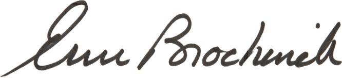 Erin Brockovich's signature
